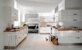 Meubles de cuisine blanc