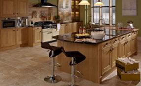 meubles de cuisine en bois naturel